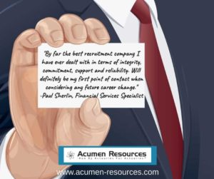 actuarial recruitment testimonials